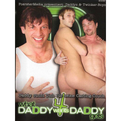 What Daddy Wants Daddy Gets 4 DVD (15878D)