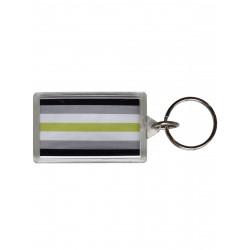 Agender Flag Key Ring (T5149)