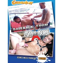 Bareback from France DVD (Crunch Boy) (16064D)