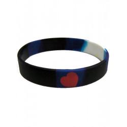 Leather Pride Bracelet Silicone (T1570)