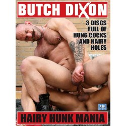 Hairy Hunk Mania 3-DVD-Set (Butch Dixon)