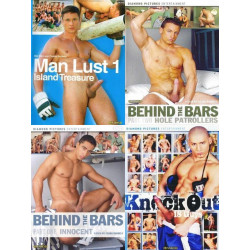 Diamond Pictures Muscle Pack 4-DVD-Set (16598D)