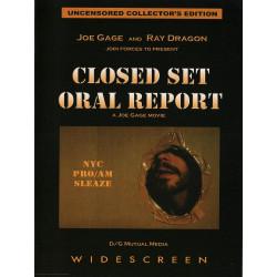 Closed Set Oral Report DVD