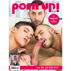 PornUp 149 Magazine + Big Bare Feast DVD