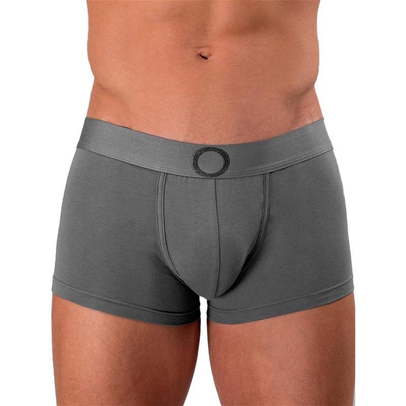 Rounderbum Colors Padded Boxer Trunk Underwear Dark Grey (T5959)