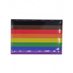 Rainbow POC Flag Magnet (T5834)