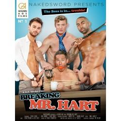 Breaking Mr. Hart DVD (Naked Sword)