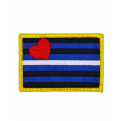 Leather Pride Patch/Aufnäher 5,5 x 8 cm (2 x 3 inch) (T5890)