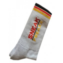 Sneak Freaxx Germany Socks White One Size (T6211)