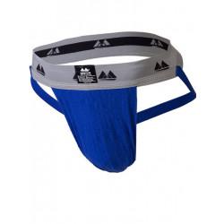 MM The Original Jockstrap Underwear Royal/Grey 2 inch