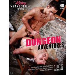 Dungeon Adventures DVD (Kinky Hardcore Twinks) (16997D)