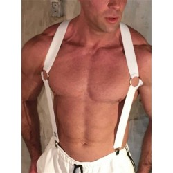 BoXer Bracer Harness White (T6168)