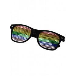 Rainbow Sunglasses Black (T6312)