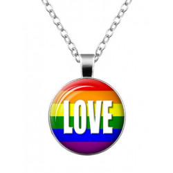 Love Rainbow Halskette / Necklace (T6304)