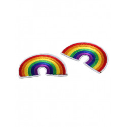 Rainbow Ironing Patch 2-Pack (T6309)