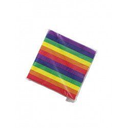 Rainbow Napkins / Servietten 20-pack
