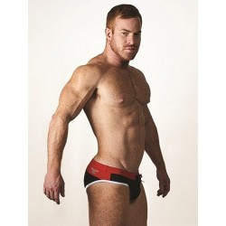 Mister B URBAN Malta Swim Briefs Red (T7021)