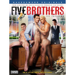 Five Brothers:The Takedown DVD (Naked Sword)