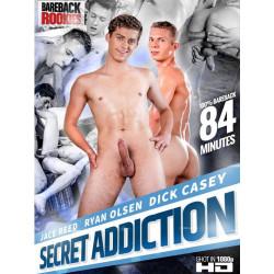 Secret Addiction DVD (Bareback Rookies) (17467D)
