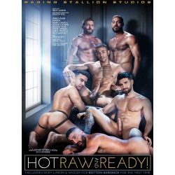 Hot Raw And Ready DVD (Raging Stallion) (17935D)