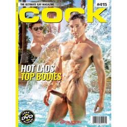 Cock 415 Magazine + DVD (M1715)