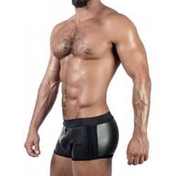 Mister B Neoprene Shorts 3 Way Full Zip Black (T7034)