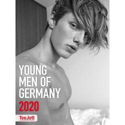 TeeJott - Young Men of Germany 2020 Calendar (M0984)
