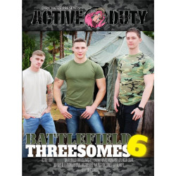 Battlefield Threesomes #6 DVD (Active Duty) (18002D)