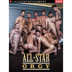 All-Star Orgy DVD (LucasEntertainment)