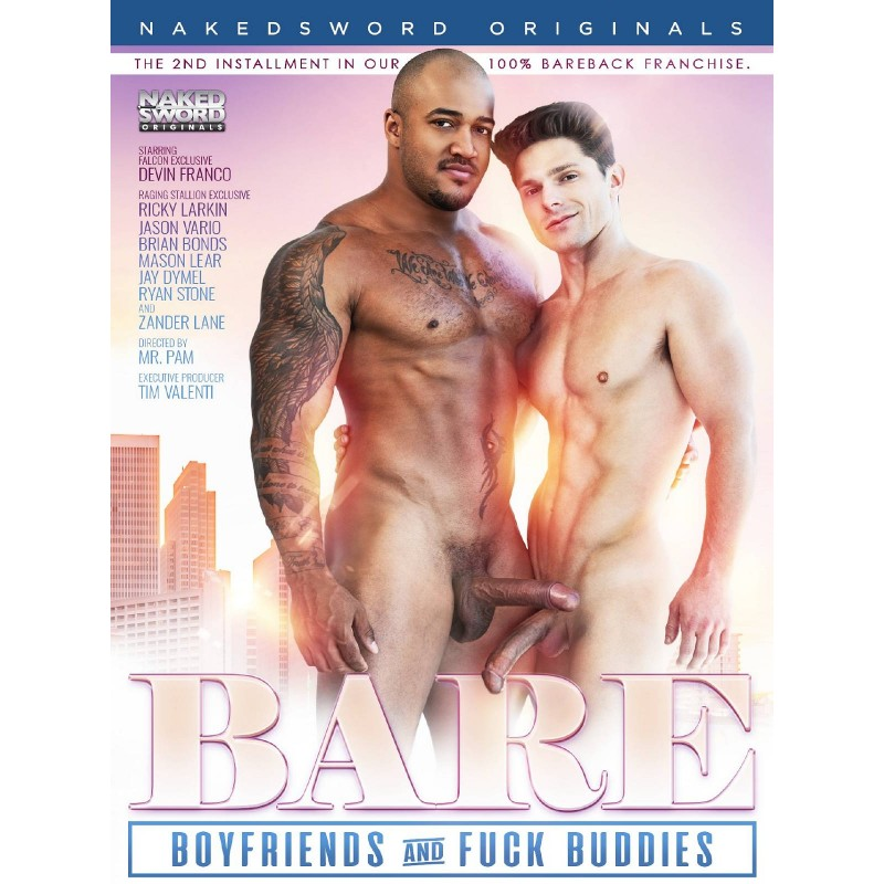 Bare #2 - Boyfriends and Fuck Buddies DVD (Naked Sword) (17939D)