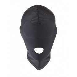 RudeRider Elastane Hood Open Mouth Black (T7281)