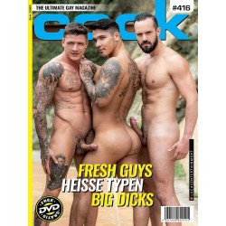 Cock 416 Magazine + DVD (M1716)