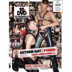 Extrem Gay Porno Box 10-DVD-Set (Extrem) (18181D)
