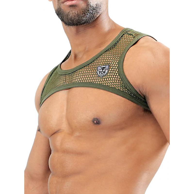 TOF Paris Army Harness Khaki (T7079)