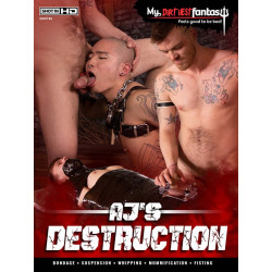 AJ`s Destruction DVD (My Dirtiest Fantasy) (18177D)