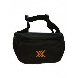 Boxer Bum Bag Black w. Orange X (T7009)