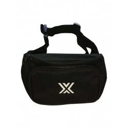 Boxer Bum Bag Black w. White X (T7010)
