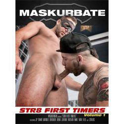 Str8 First Timers #1 DVD (Maskurbate) (18272D)