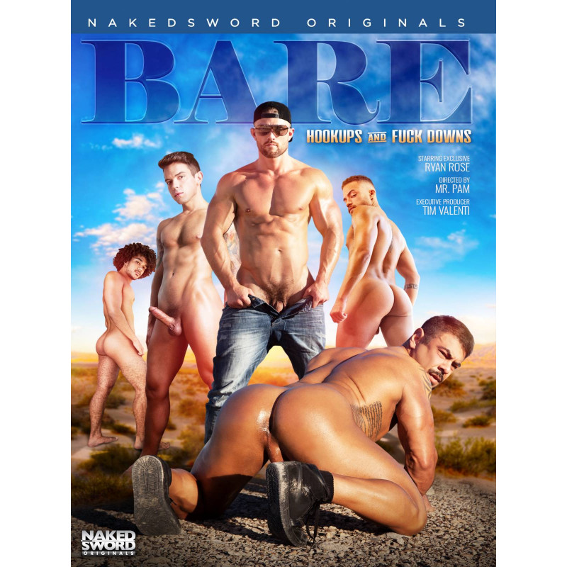 Bare #3 - Hookups And Fuck Downs DVD (Naked Sword) (18259D)