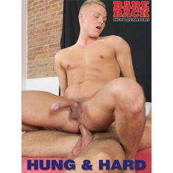 Hung & Hard DVD (Bareback Headquarters)