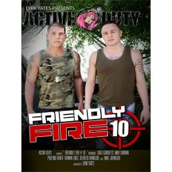 Friendly Fire #10 DVD (Active Duty) (18350D)