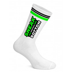 Sneak Freaxx Sneak Bottom Neon Socks White One Size (T7510)
