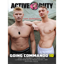 Going Commando #10 DVD (Active Duty) (18592D)