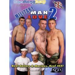 Military Man Love #2 DVD (San Diego Boy) (18518D)