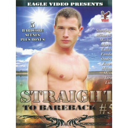 Straight to Bareback 5 DVD (Eagle Video)