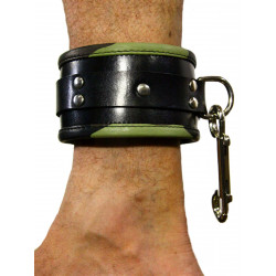 RudeRider Ankle Cuffs with Padding Leather Camo (Set of 2) One Size (T7358)