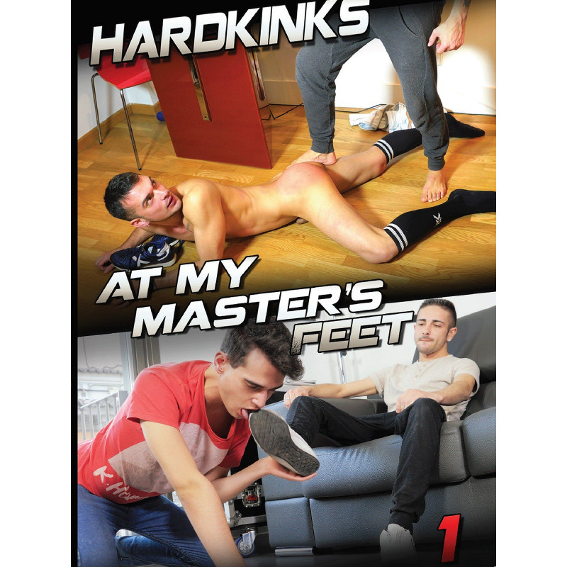 At my Master`s Feet #1 DVD (Hard Kinks) (18748D)