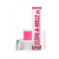 Clone-A-Willy Kit Hot Pink Silicone (T3574)