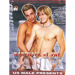 Bareback At The Sauna DVD (US Male) (18825D)