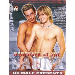Bareback At The Sauna DVD (US Male) (18825D)